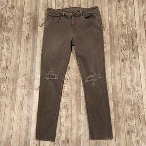 American Eagle Jegging crop skinny jean